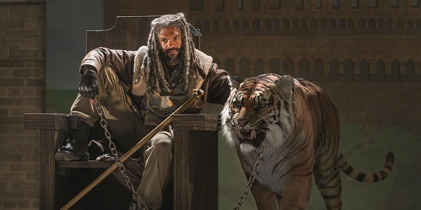 the walking dead king ezekiel shiva