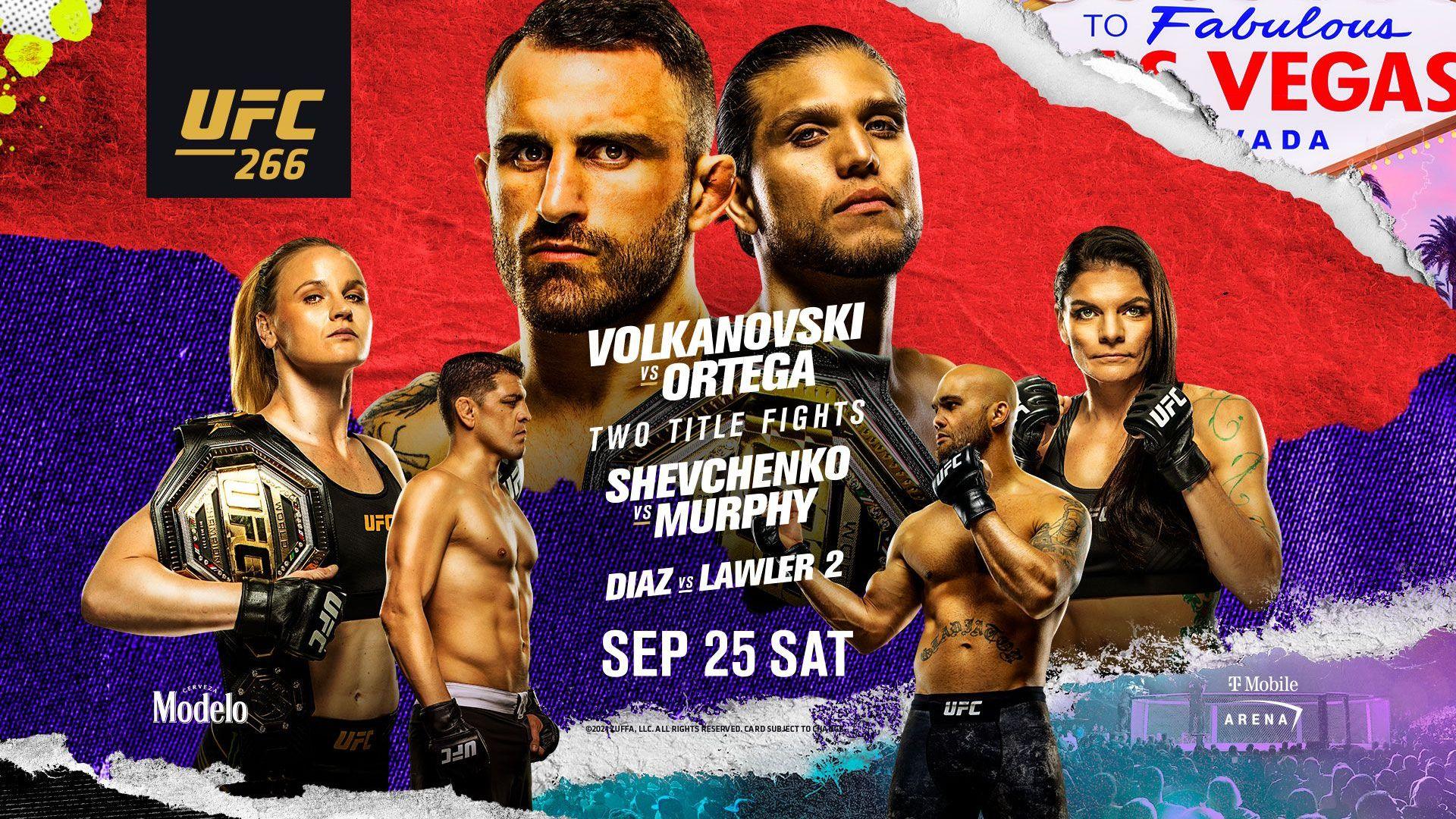 UFC 266: Volkanovski vs Ortega - Reddit MMA Streams Live, How to Watch Online, Time, Fight Card
