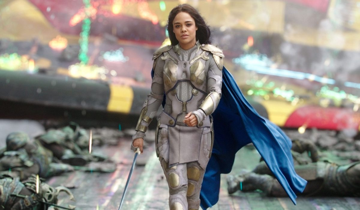 Tessa Thompson as Valykrie in Thor: Ragnarok