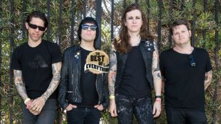 Against Me! in 2014