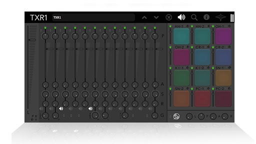 TXR1 is a drum machine with blending, layering and instant grooves