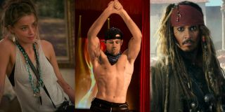 Channing Tatum and Amber Heard starred in Magic Mike XXL together