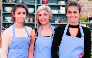 Zoë Ball asks for a 'bellyful of amazing home-cooked food' as the Bellamys and the Bellamores go head-to-head for a place in the semi-finals.