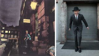 David Bowie in London and New York
