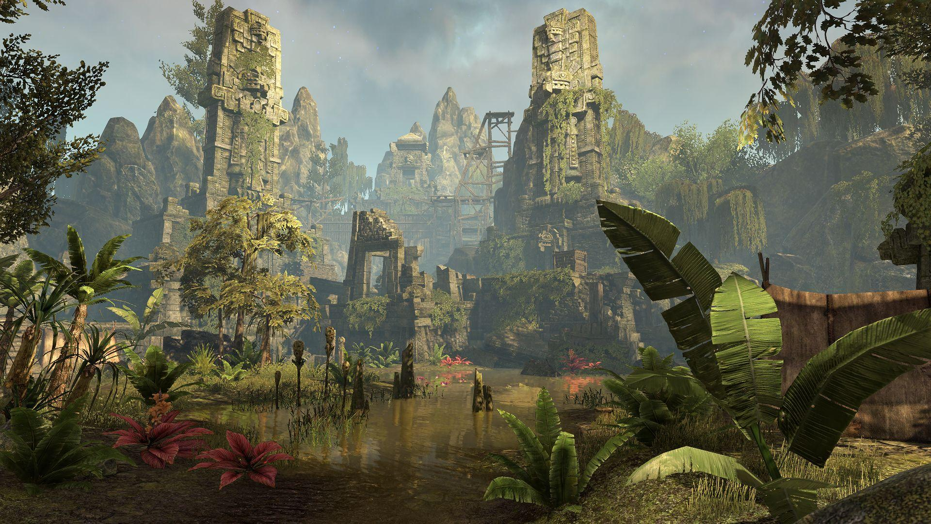 Watch a first look video of The Elder Scrolls Online's