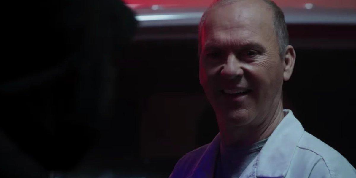 Michael Keaton as Vulture in Morbius