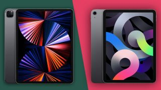 iPad Pro 12.9 (2021) vs iPad Air 4