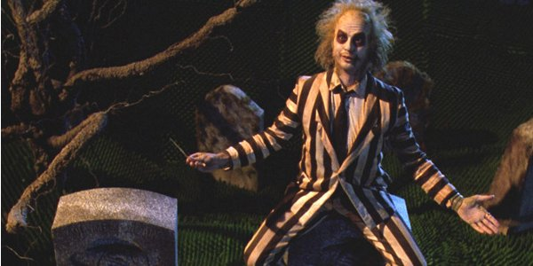 Beetlejuice Michael Keaton graveyard taunt