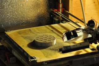 3D printed cone by University of Alaska