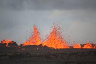 Bardarbunga volcano eruption