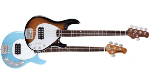 Ernie Ball Music Man Stingray 4- and 5-string