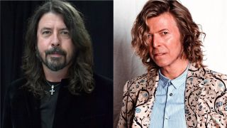 Dave Grohl and David Bowie