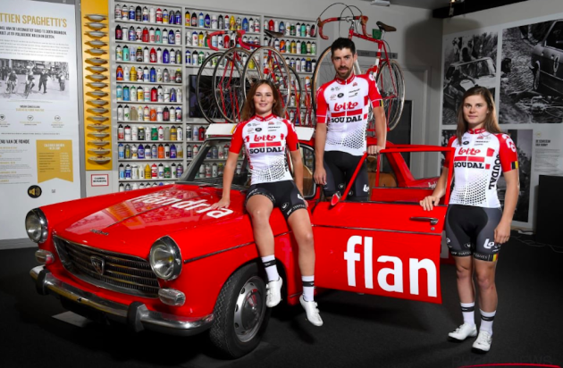 858ea7365 Lotto-Soudal unveil new jersey for 2019 - Cycling Weekly