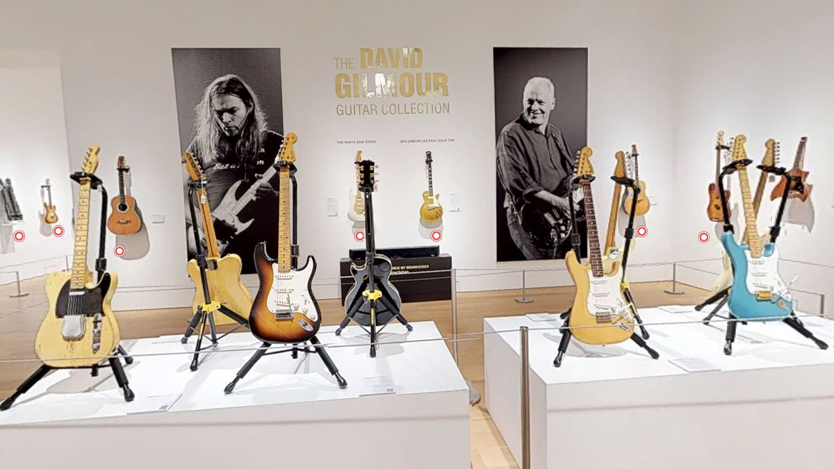 Can't make David Gilmour's mammoth guitar auction? Take a jaw-dropping virtual tour instead | MusicRadar