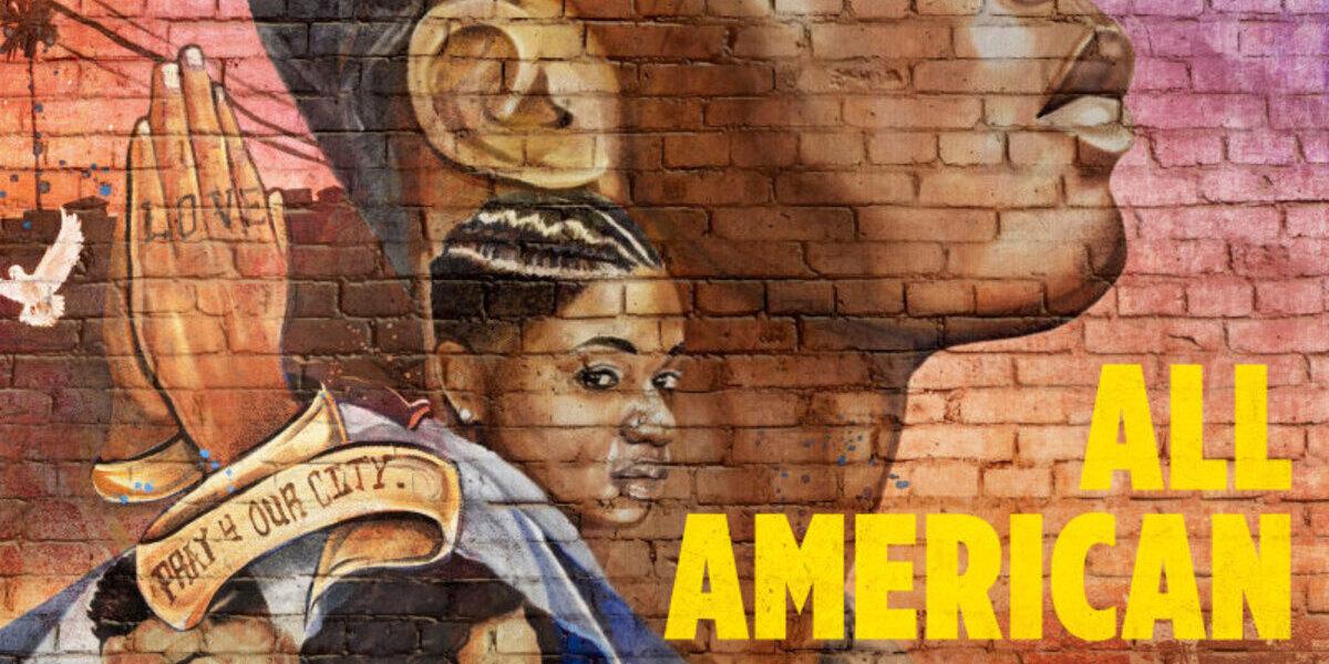 all american poster season 3 the cw logo