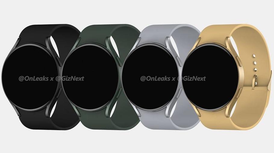 Samsung Galaxy Watch Active 4 leak