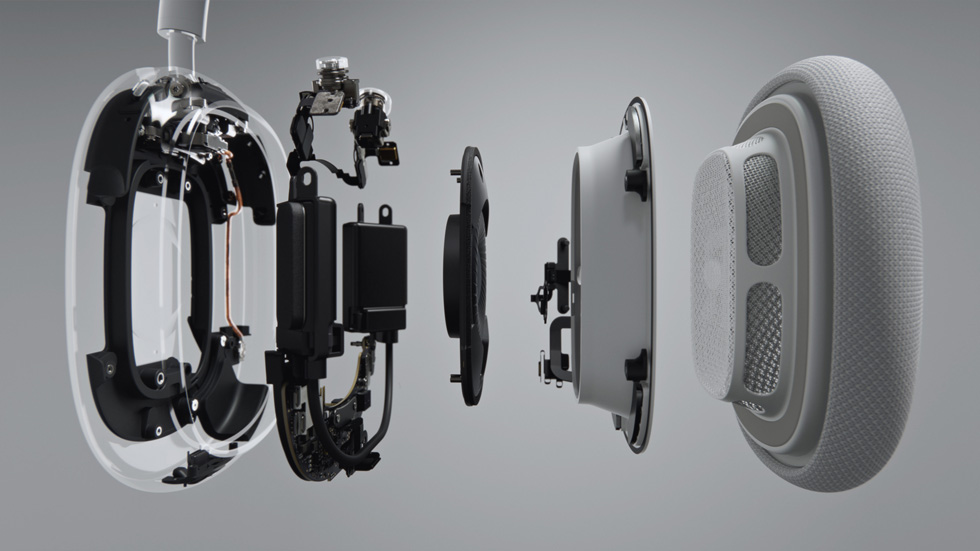 Apple AirPods Max construcción