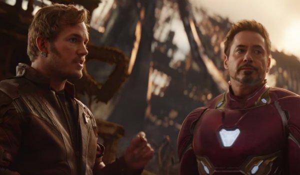 Star-Lord Chris Pratt Avengers Infinity War robert downey jr tony stark