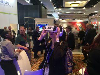Space.com's Cofield Experiences ULA's VR Rocket Launch