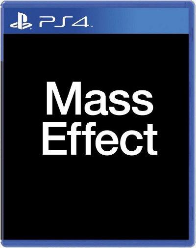 PS4 box art for Mass Effect 4