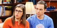 Mayim Bialik Shares Throwback Set Photo With Jim Parsons That's Giving Me All The Big Bang Theory Feels