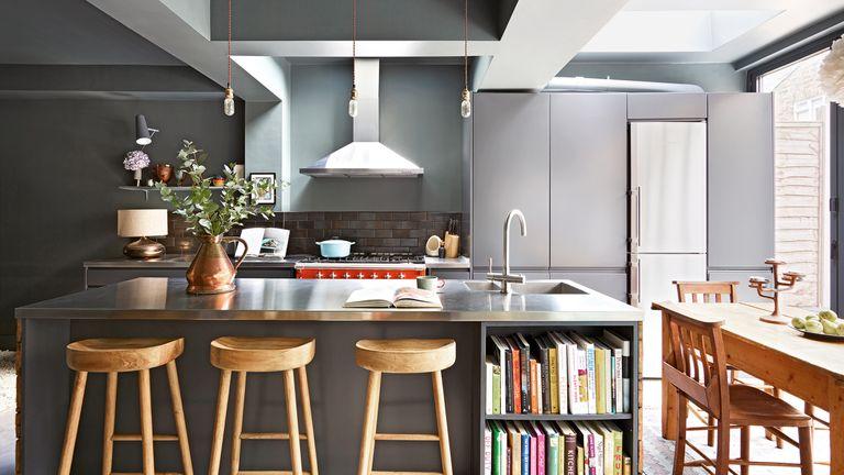 Kitchen countertop ideas in gray