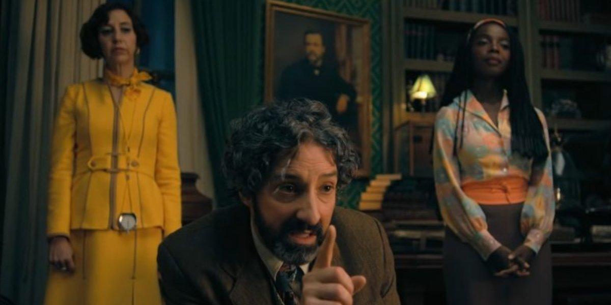 Kristen Schaal, Tony Hale, and MaameYaa Boafo on The Mysterious Benedict Society