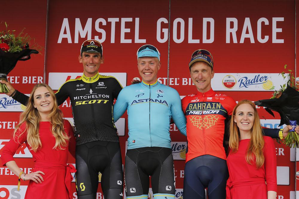 Resultado de imagen de Amstel Gold Race podium 2018
