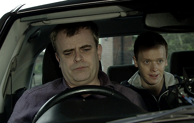 Coronation Street spoilers: Steve McDonald picks up a dodgy passenger