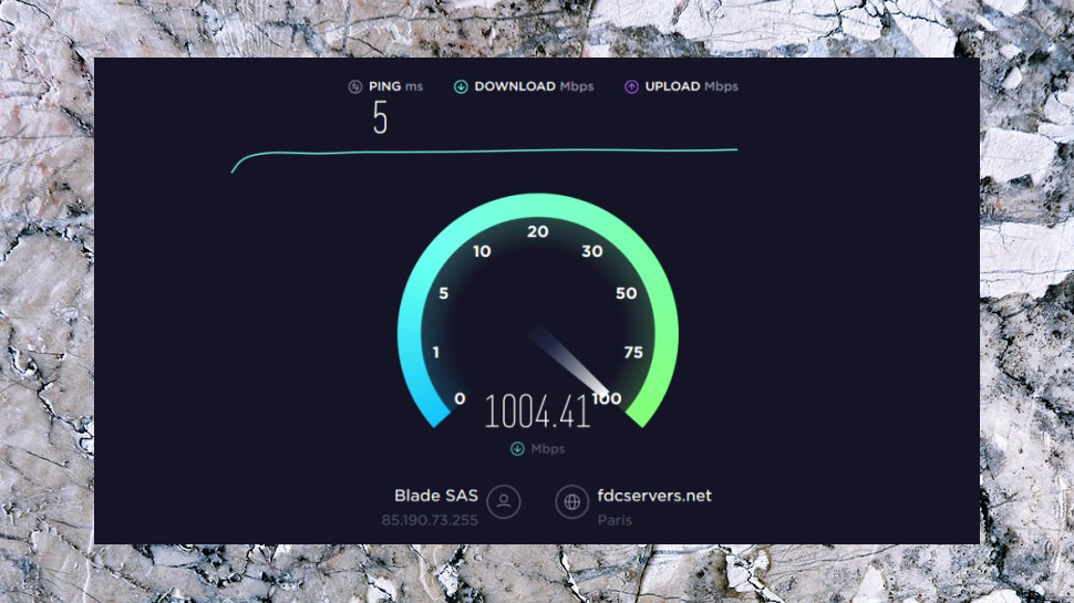 New Speedtest Image