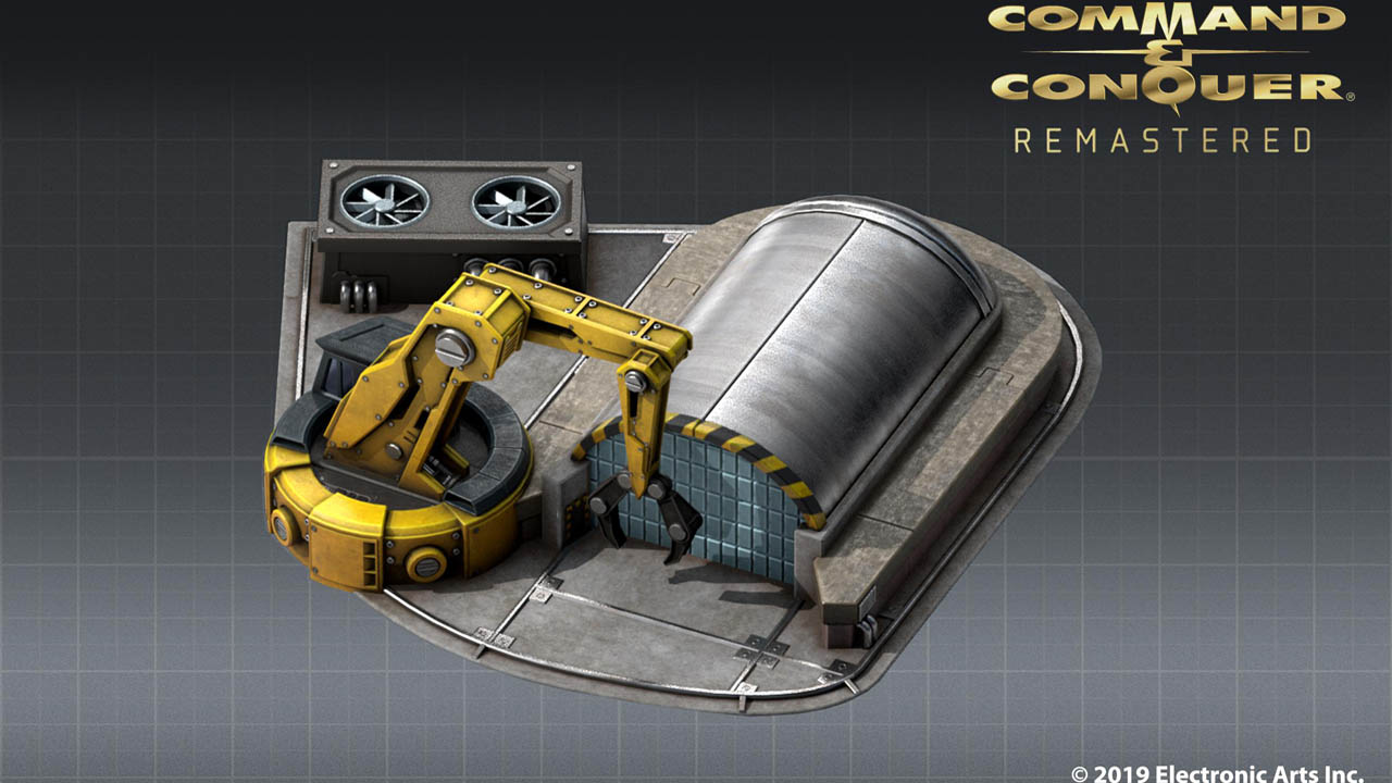 Command & Conquer Remastered shows us the Construction Yard in its first art preview