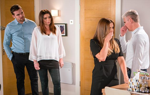 Carla and Michelle Connor fall out over Ali Neeson in Coronation Street