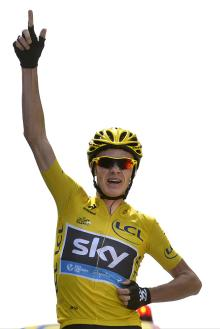 Christopher Froome (Sky) makes history, winning on Mont Ventoux and extending his race lead