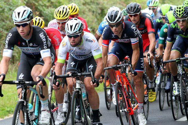 Mark Cavendish in the Tour du Poitou Charentes 2014