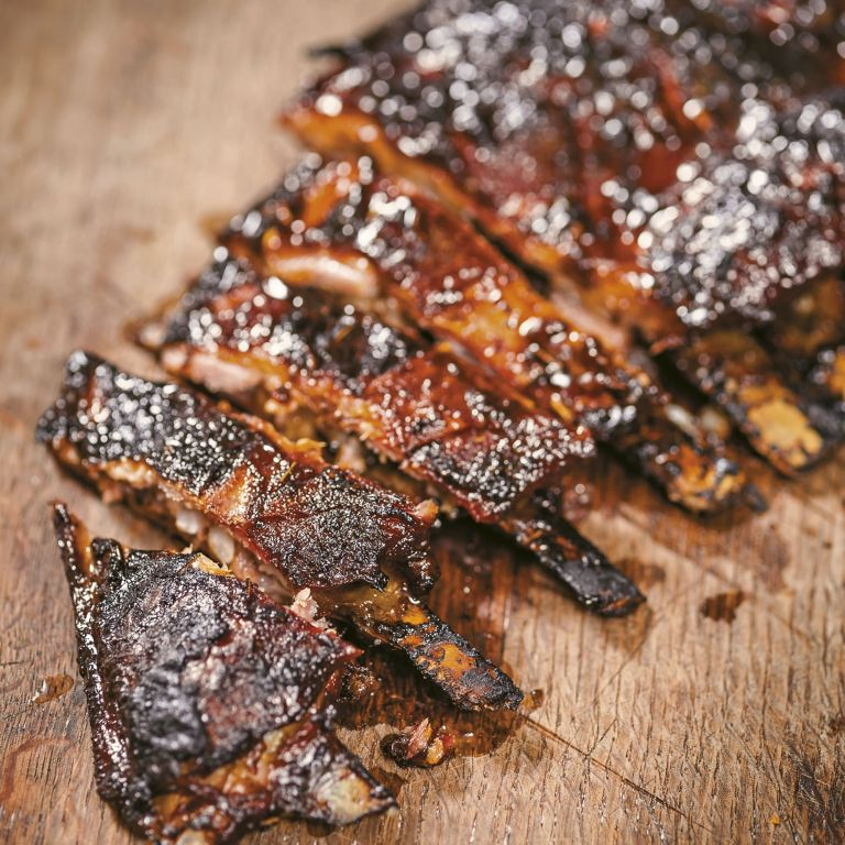 Lamb ribs photo
