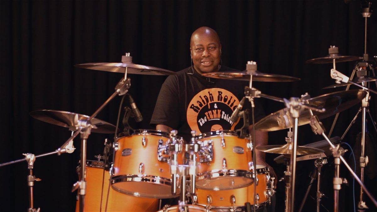 Video: Funk drumming masterclass with Ralph Rolle part one