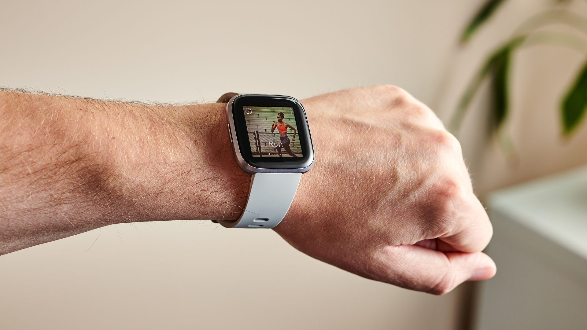 You can select the exercise routine you want for the Versa 2 to start logging data