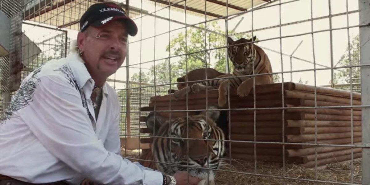 Joe Exotic on Tiger King