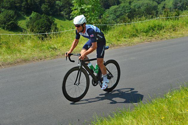 Mark Cavendish, London 2012 Olympic Games, road race training, July 26