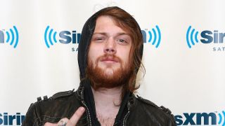A close-up of Danny Worsnop
