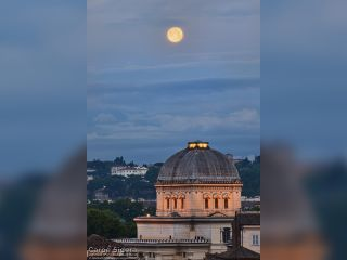 May 2019 Blue Moon Over Rome