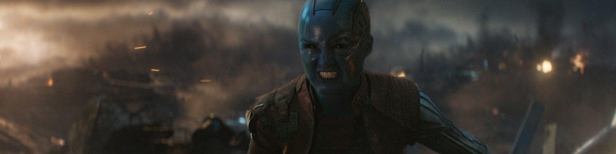 Nebula Karen Gillan in Avengers Endgame