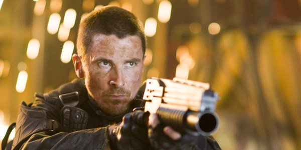 Christian Bale as John Connor in Terminator Salvation