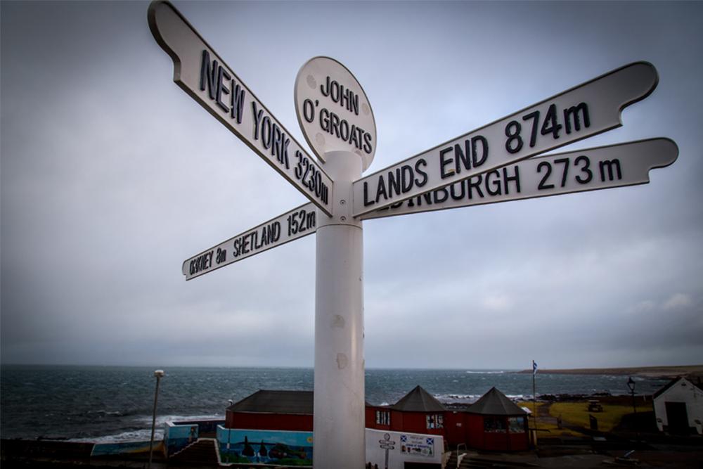 Land's End to John O'Groats (LEJOG/JOGLE) 2020