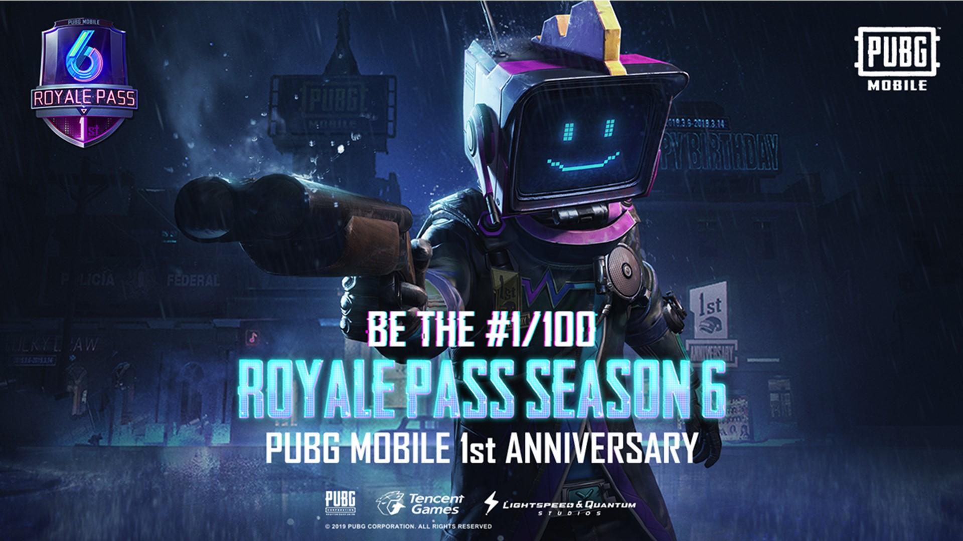 PUBG Mobile premier anniversaire: Saison 6, de nouvelles armes, de véhicules, et plus