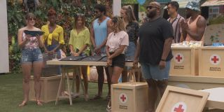 Big Brother cast helping the Red Cross CBS
