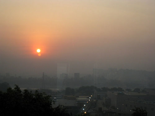 Sunrise, Tour de Mumbai 2011