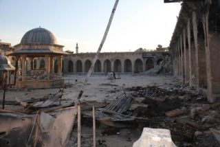 Great Umayyad Mosque, Aleppo, monuments