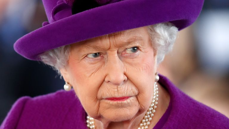 Queen Elizabeth II visits the Royal British Legion Industries village to celebrate the charity's centenary year on November 6, 2019 in Aylesford, England