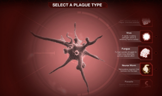 Screenshot from Plague Inc.